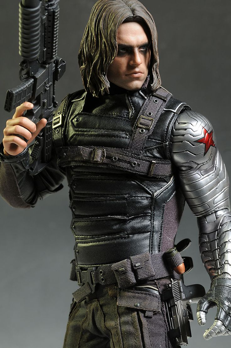 Winter Soldier Captain America sixth scale action figure by Hot Toys