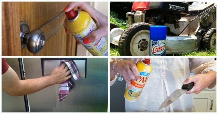 13 Problems Solved by Cooking Spray