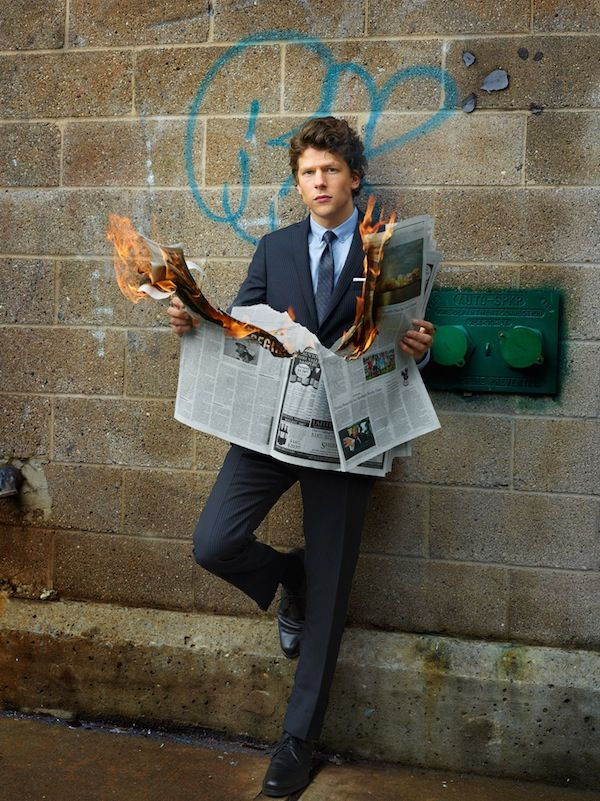 Awesome Portraits of Jesse Eisenberg by Martin Schoeller - My Modern Metropolis