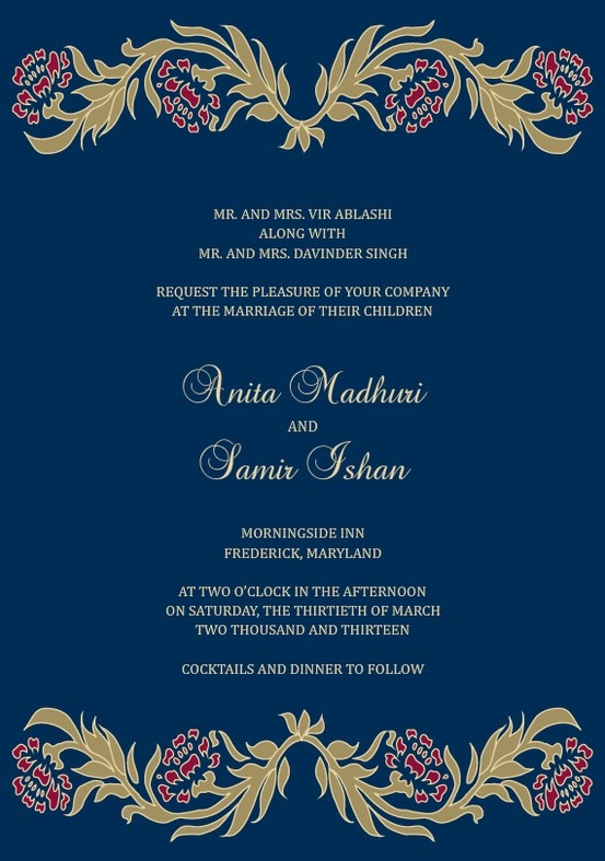 1000 images about invitation illustration on pinterest for Electronic wedding invitations indian
