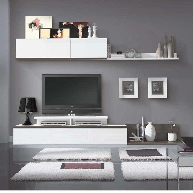 meuble tv laqu design heather sans marque prix avis notation livraison ce sublime meuble. Black Bedroom Furniture Sets. Home Design Ideas