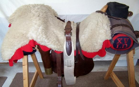 British Light Cavalry Saddle (Napoleonic)