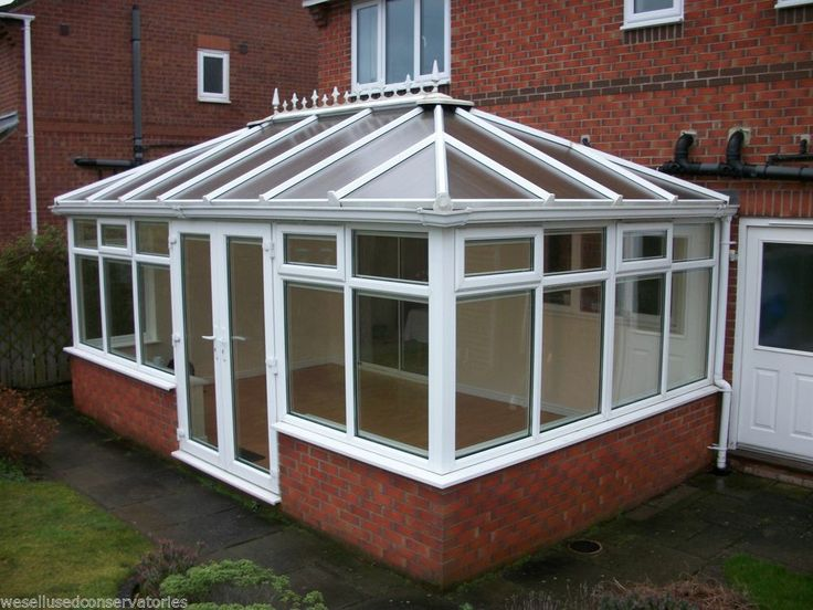 Used Pvcu Large White Upvc Conservatory 5765 mm x 3500 mm