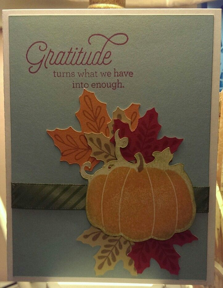 CTMH Gratitude card