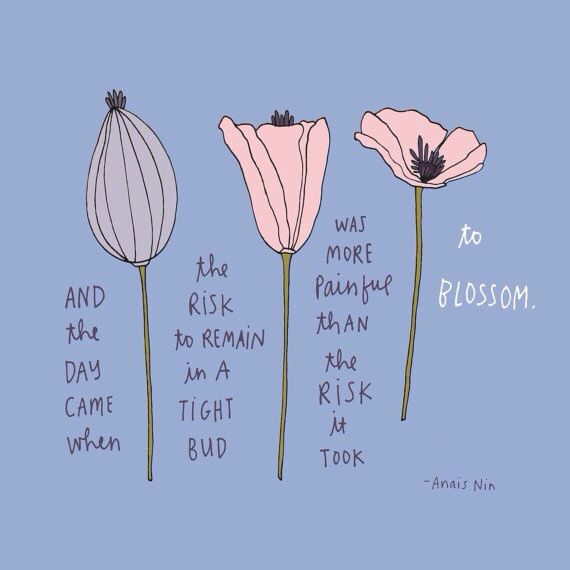 Grow. Bloom. Flourish