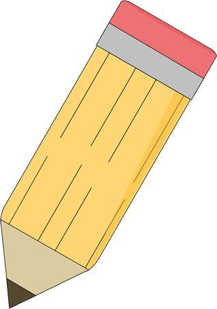 Sharp Pencil Clip Art - Sharp Pencil Image