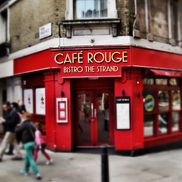 Cafe Rouge at the Strand
