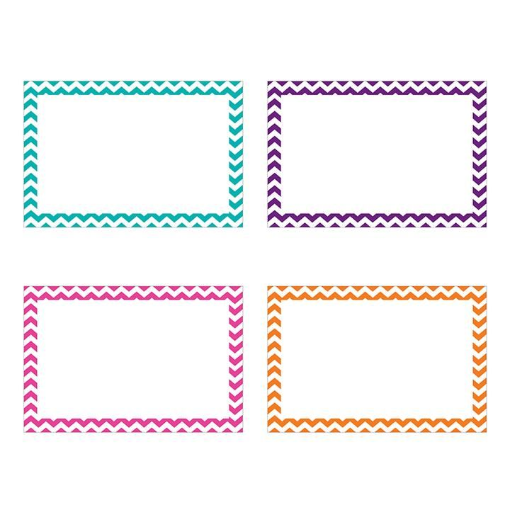 Border Index Cards 3x5 Blank 75ct Student Spotlight Note Card Template Flash Card Template Index Cards
