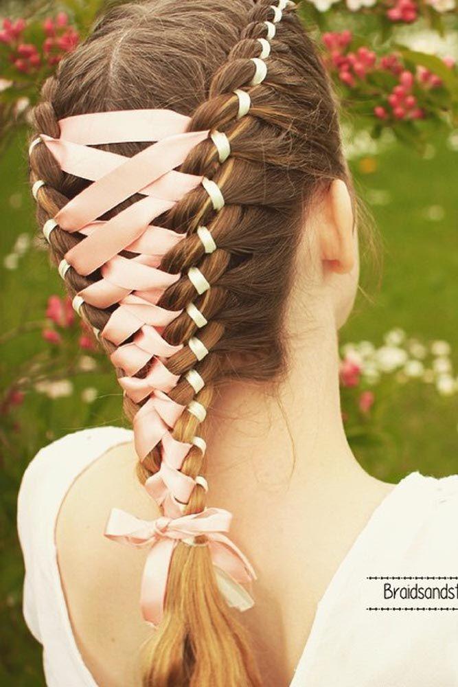 Amazing Braid Hairstyles with Corset Braid Hair ★ See more: http://glaminati.com/corset-braid-hairstyles/