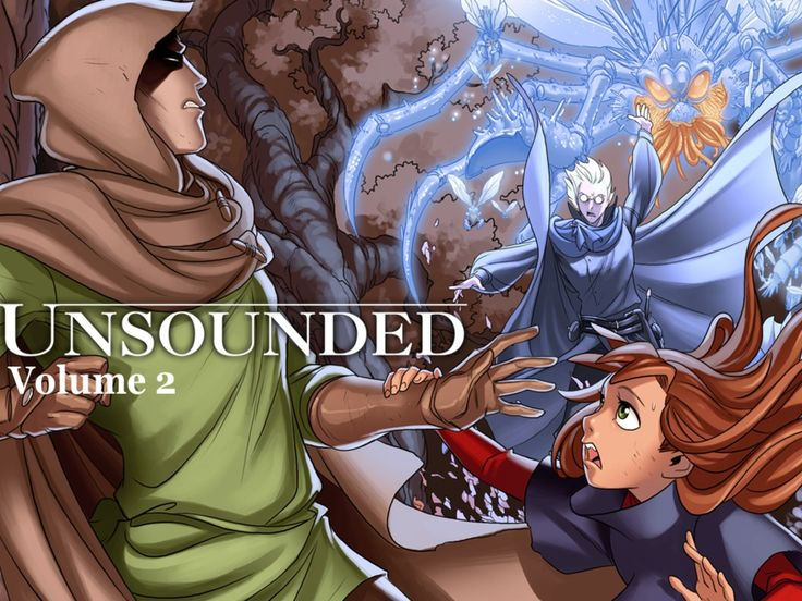 Unsounded Comic Volume 2's video poster