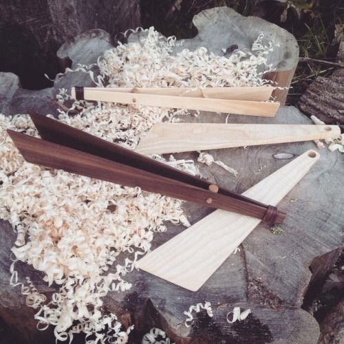 First online shop order 2 ash spatulas small Ash tongs and...