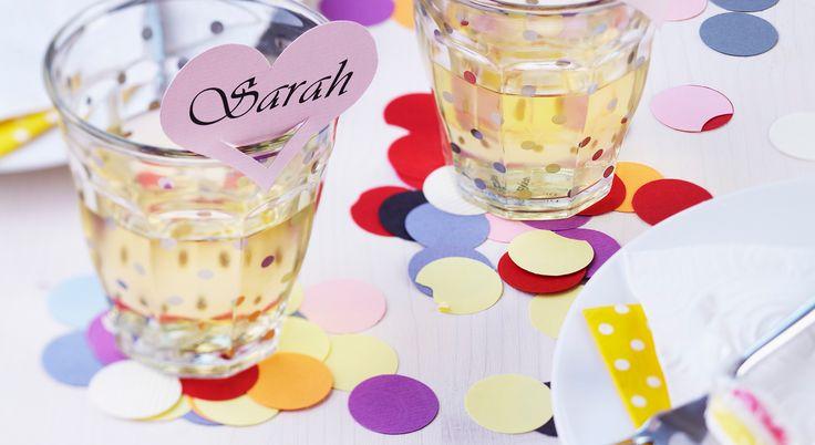 Segna bicchiere fai da te: idee per non perdere il bicchiere al party