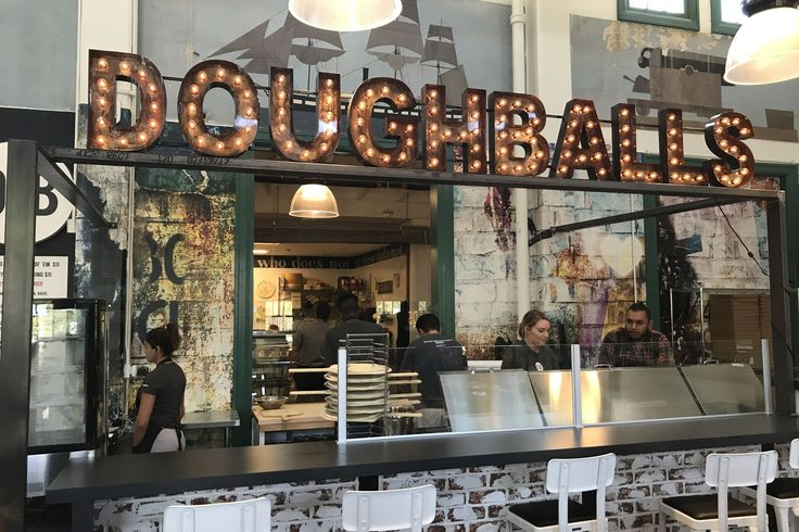 CAs Food & Drink | Liberty Public Market Bakes Up Wood-Fired Pizzeria and DIY Breakfast Bar - Doughballs and Crackheads make their debut