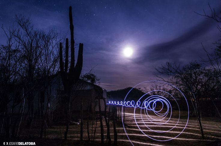Light Ripple at the full moon #josafatdelatoba # #mexico #bajacaliforniasur #loscabos #cabophotographer #lightpainting #fullmoon