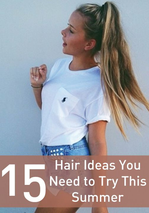 Click to try all these great summer hair ideas for a fresh new look!