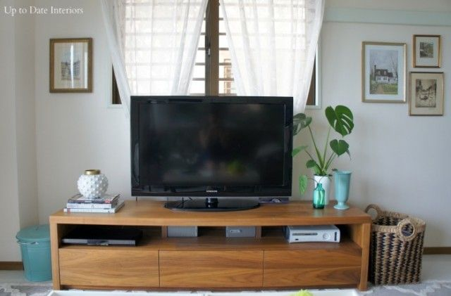 Do you have that one piece of furniture that you can't get the decor just right?  I always struggle decorating the tv stand.  Do I make it symmetrical? How many accessories is just right?  Do I use picture, candles, lamps, all of the above? We found a used beautiful Japanese media cabinet and had to [...]