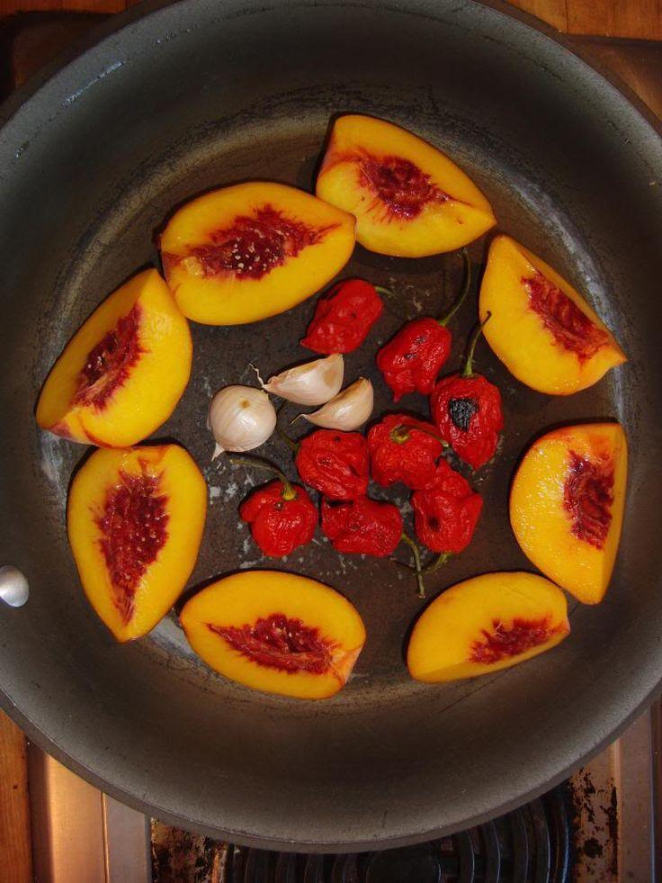 Carolina Reaper-Peach Salsa http://thehotpepper.com/topic/41278-carolina-reaper-peach-salsa/