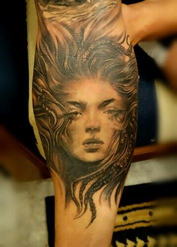 #tattoo #sirenetattoo by BROLIN KOSTA