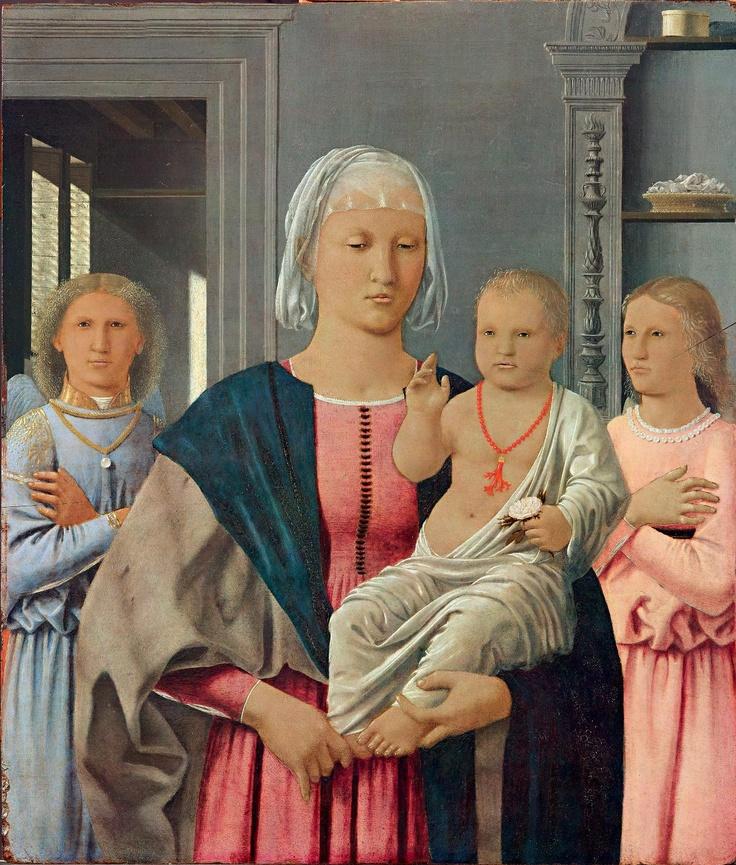 ❤ - PIERO DELLA FRANCESCA - (1415 - 1492) - Madonna di Senigallia.