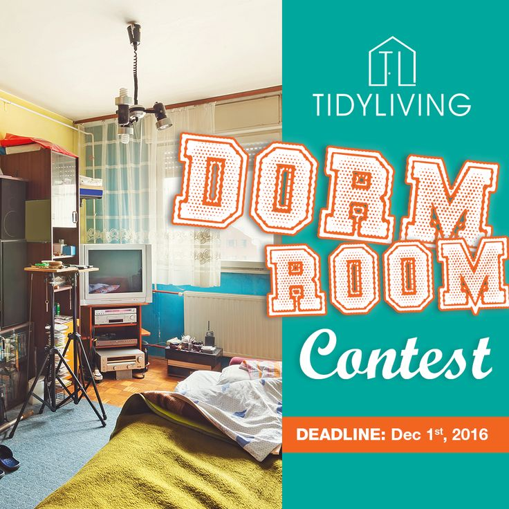 Enter our Dorm Room Contest for a makeover kit valued at $500! https://goo.gl/PXXIXC