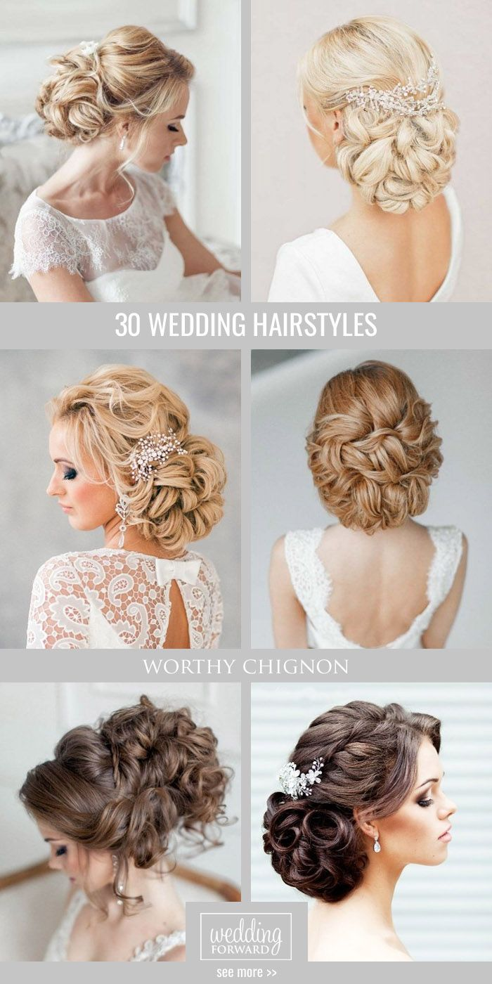 659 best wedding hair images on Pinterest | Bridal hairstyles ...