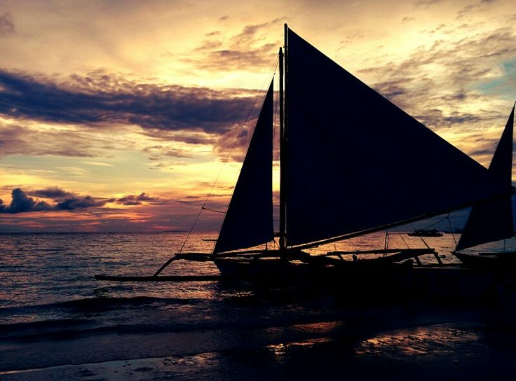 #sunset #whitebeach #boracay #philippines