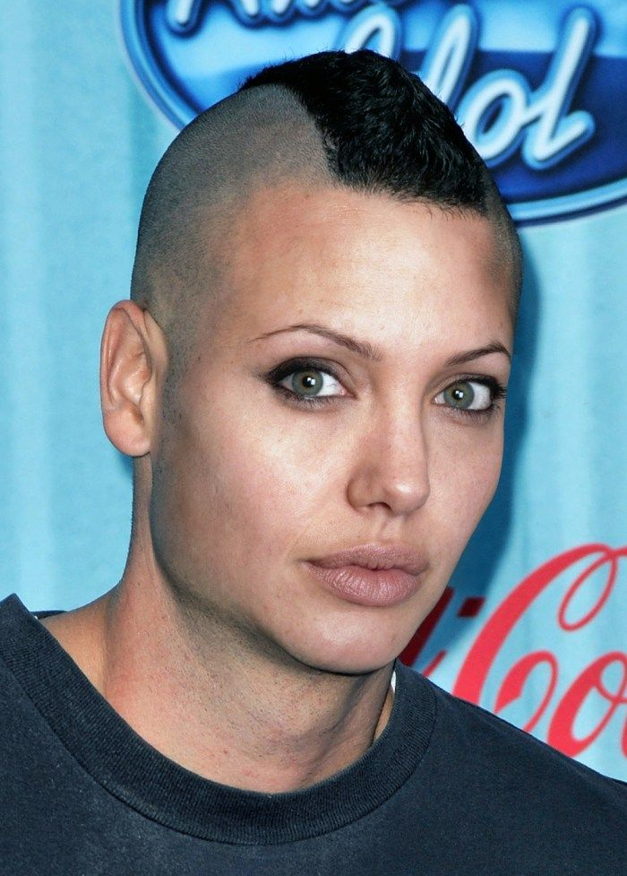 Celebrity Gender Swap Photos: Angelina Jolie