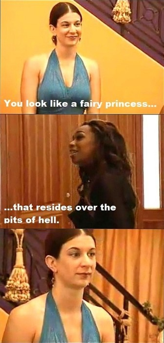 I miss the VH1 reality shows. rock of love, flavor of love, chance at love.