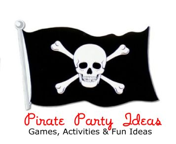 Pirate Party Ideas - Fun Pirate party games, activities, food, favors, decorations, invitations and more!  Great Pirate party ideas for kids, tweens, teens and adults. http://www.birthdaypartyideas4kids.com/pirate-birthday-theme.htm