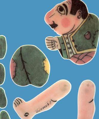 Fresh-Education : Οι φιγούρες του Καραγκιόζη από τον Σπαθάρη, έτοιμες για εκτύπωση και κόψιμο