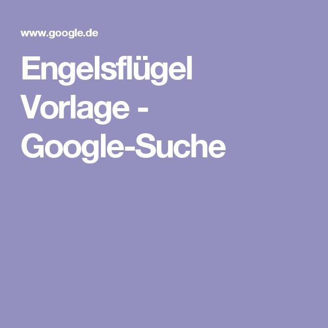 Engelsflügel Vorlage - Google-Suche