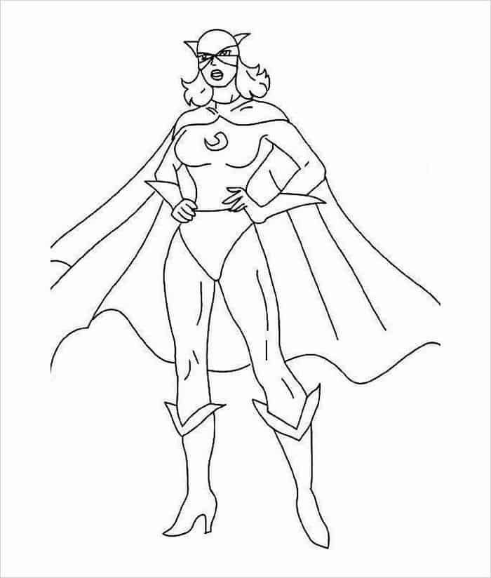 Superhero Girl Coloring Pages Coloring Pages Superhero Funnysuperherocomics Superhero Coloring Pages Superhero Coloring Coloring Pages For Girls