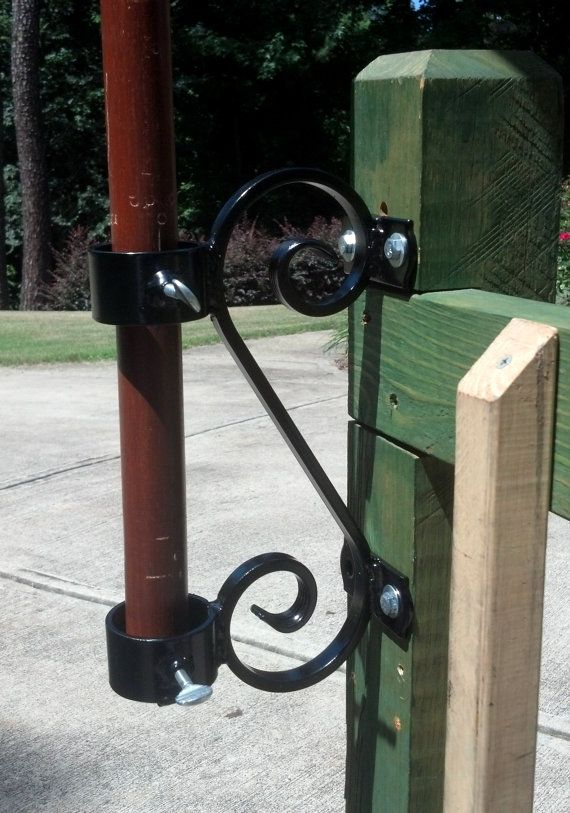 Umbrella Mount Deck Rail Or Fence Hanger By MuddHook On Etsy, $39.99