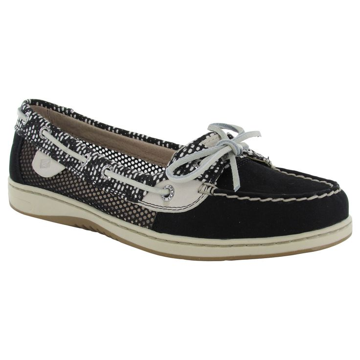 Sperry Womens Angelfish Tribal Mesh Moc Slip On Up Boat Shoes