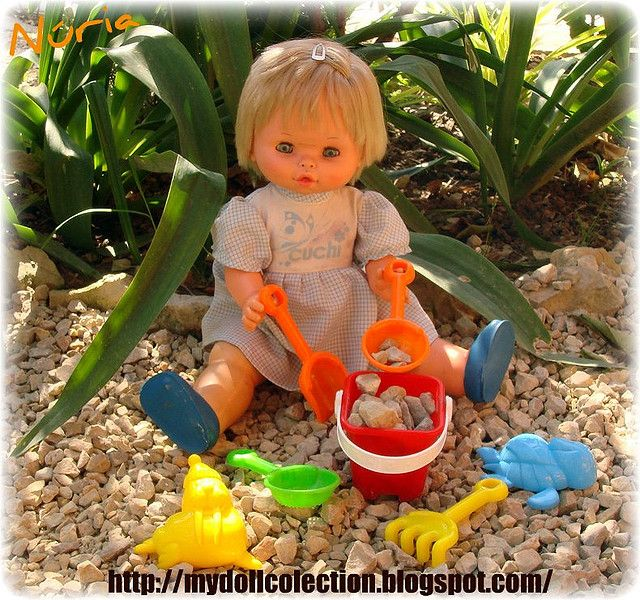 Cuchi ( muñecas B.B . ) de mi infancia.
