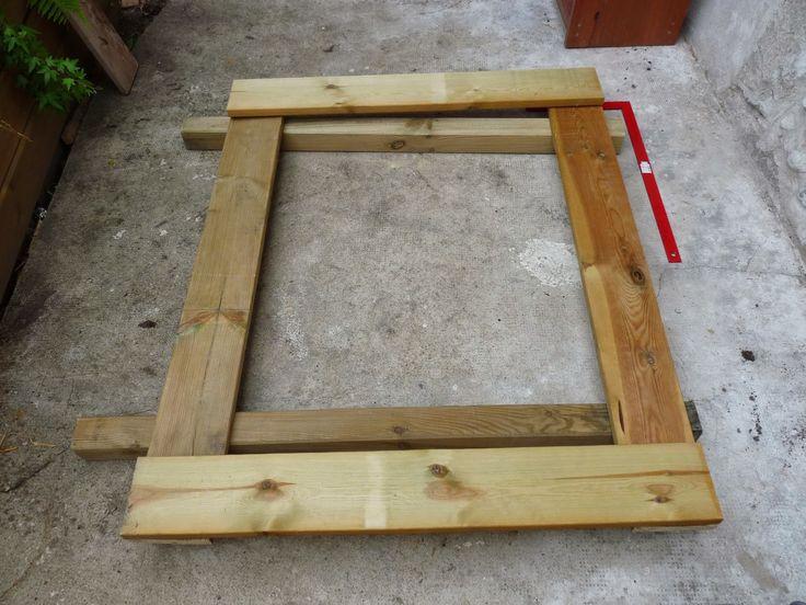 fabriquer un portillon en bois bricolage portillon. Black Bedroom Furniture Sets. Home Design Ideas