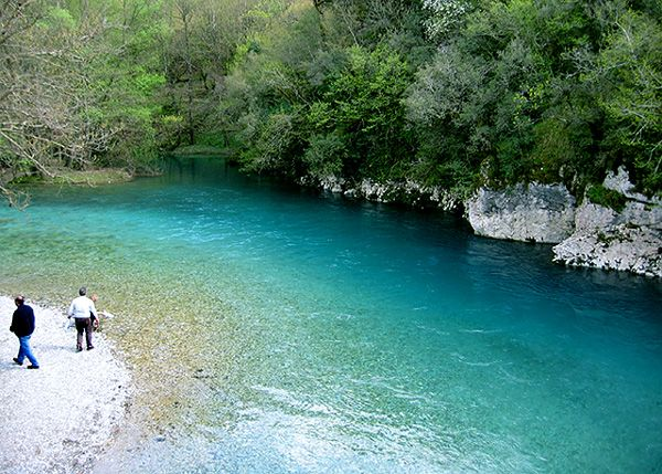 ha! we went swimming in this river. eye of the bull. my cousin and his friend in their greek tighty-whiteys and all our men in boxers. SO COLD. life.