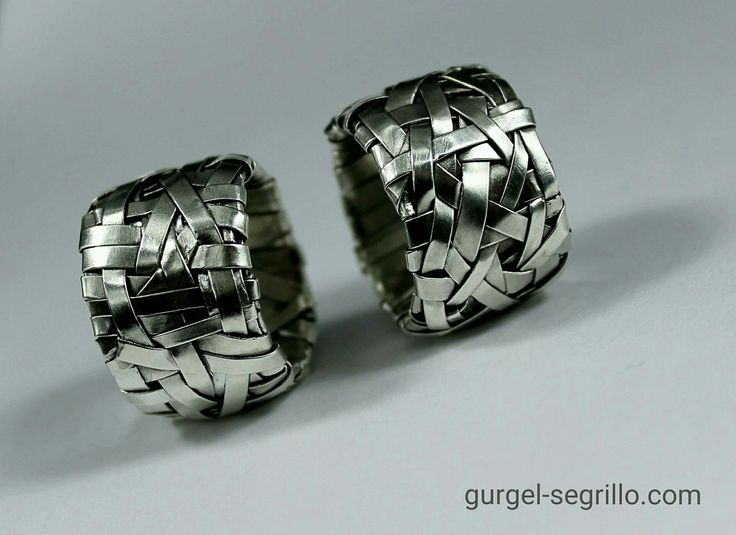 woven rings handcrafted to order by gurgel-segrillo