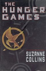 Cover art of The Hunger Games, Book One of Hunger Games Trilogy, is my favorite movie and book series ever, & inspired me to read 40 books that school year. I read the book a couple of months before they released the movie, which was just as good as the book. My friends and I also made a spoof about it, which was really cheesy and horrible, now that I looked back on it.