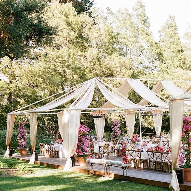 Wedding Ideas With A Difference: Fabric Draping Can Make All The Difference When It Comes