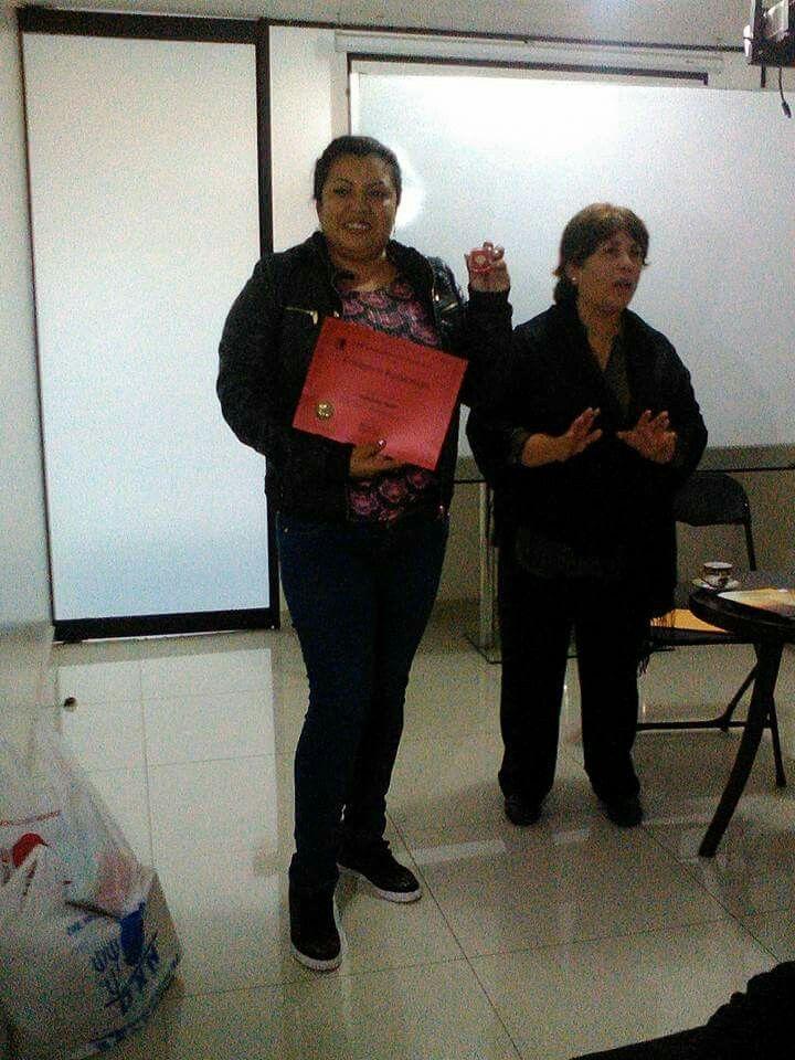 """Nueva """"Estrella Rubí"""" en Callao!  Felicidades Jaqueline Ludeña Gonzales orgullosas de tus logros!"""