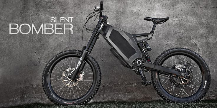 Stealth Electric Bikes USA - The Bomber