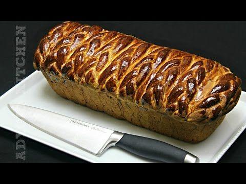 Cozonac cu branza si stafide | Adygio Kitchen - YouTube