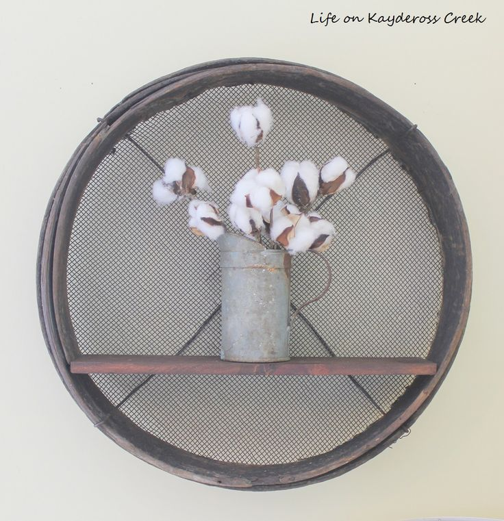 DIY Farmhouse Shelf - Screen Project Challenge - Life on Kaydeross Creek