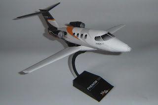 Papercraft Jet - Embraer Phenom 100 ~ Paperkraft.net - Free Papercraft, Paper Model, & Papertoy