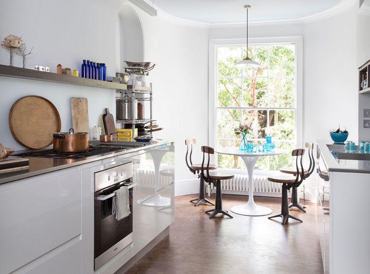 houzz modern white kitchens
