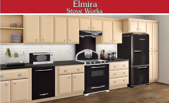Black Appliances Go With Any Cabinet Colors Start Off