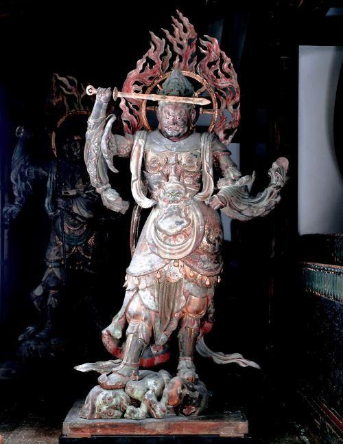 四天王立像 四躯(国宝) 浄瑠璃寺 Kyoto