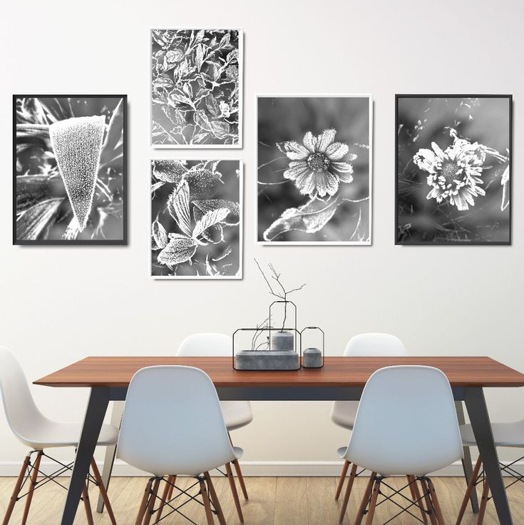 Modern Black And White Prints Set Printables Art Bundle Living Room
