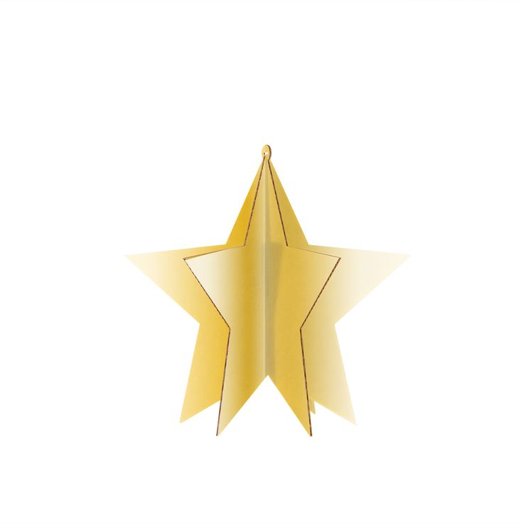 STELLA BASIC M A003416  #cardboard #christmas #star